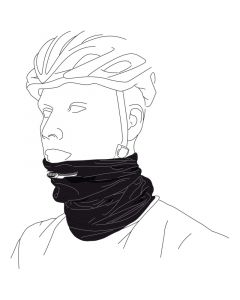 BBB COMFORTNECK Scarf/Snood-Black BBW-98