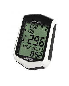 BBB DigiBoard Cycling Computer with Heart Rate Monitor and Altimeter BCP-52WAH