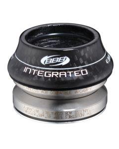 BBB Integrated Headset 41.8mm 45ºx45º 15mm Carbon Cap BHP-44