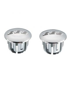 Silver end plugs