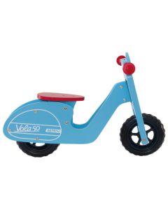 BRN VOLA 50 WOODEN BALANCE BICYCLE - Blue , BI37Α