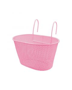 Child's Basket - Pink with Hooks