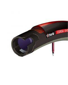 VITTORIA CORSA EVO-CX  Road Tubular 21mm Black