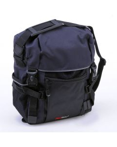 FAST RIDER ACIDUS Single Rear Pannier-Black-Small