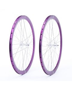 HAND BUILT FIXIE WHEELS-Purple