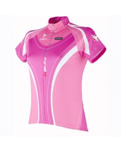 Nalini Pro Dora Ladies' Short Sleeve Jersey Pink - Size 2XL only