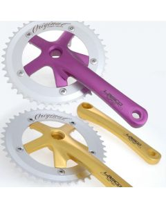 LASCO Single Speed Anodised Crankset