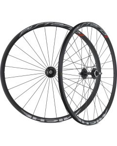 Miche Pistard Track Wheelset Clincher, Black, Fixed/Fixed