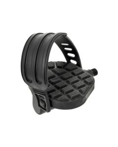 BRN EXERCISE/SPIN BIKE PEDALS ANTISLIP PED106 - Black