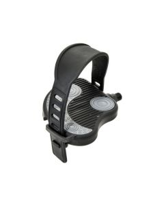 BRN EXERCISE/SPIN BIKE PEDALS Double Wide PED108 - Black