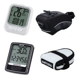 BBB Cycling Computer and Saddle Bag Special Offer Bundle